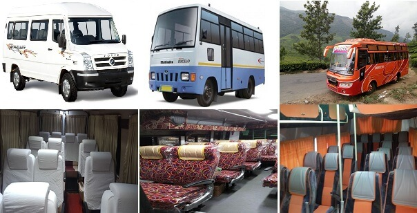 Van Rental Chennai | Van Hire Chennai | South India Tours Package