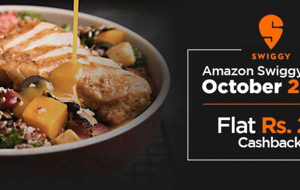 Amazon Swiggy Offer October 2020 - Flat Rs. 25 Cash back