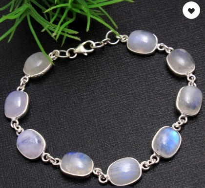 Silver Gemstone Bracelets or Pure 925 Sterling Silver Jewelry – Choose Online at Competitive Rates