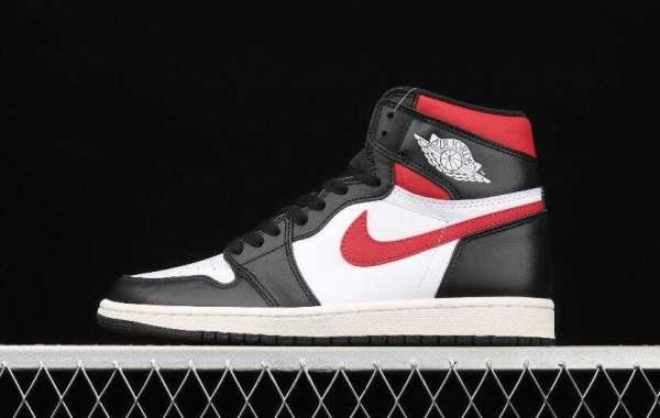 Hot Sell Air Jordan 1 Retro High Black Gym Red White Shoes