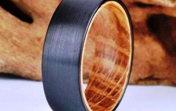 Antler Wedding Bands - Perfect for Those Who Love Nature