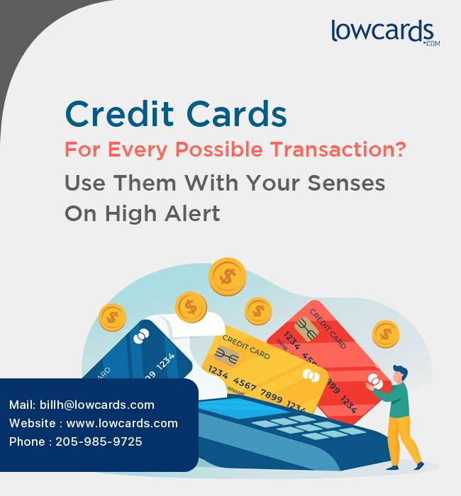 Credit Cards For Every Possible Transaction? Use Them With Your Senses On High Alert - Credit Cards For Excellent Credit