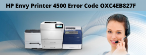 How to Fix HP Envy Printer 4500 Error Code oxc4eb827f