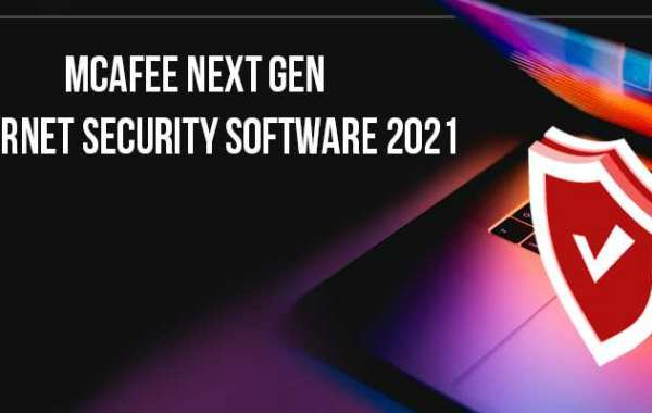 McAfee Next Gen Internet Security Software 2021