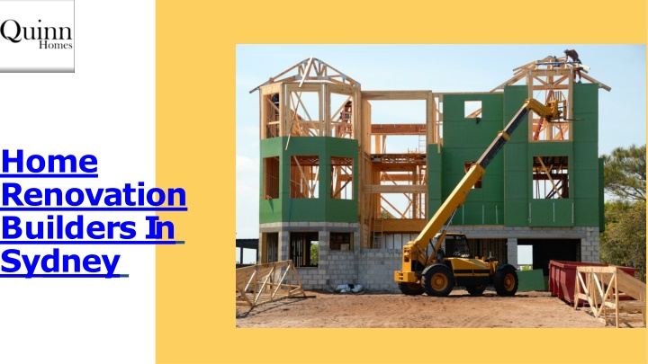 PPT - Find Best Home Renovation Builders In Sydney | Quinn Homes PowerPoint Presentation - ID:10400083