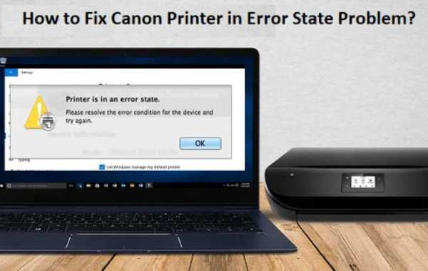 Why is my Canon Printer in Error State?