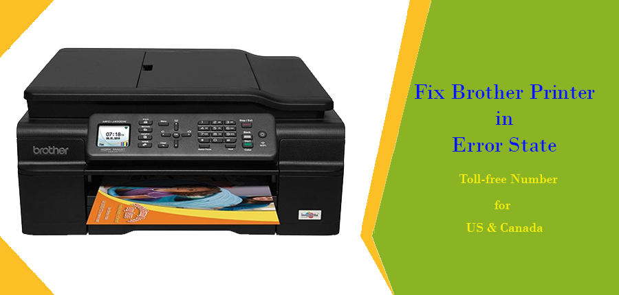 How to Fix Brother Printer in Error State issue | +1-855-205-2148